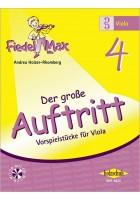 Fiedel-Max für Viola  - Der große Auftritt Band 4