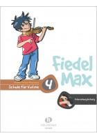 Fiedel-Max 4 Violine - Klavierbegleitung (mit CD)